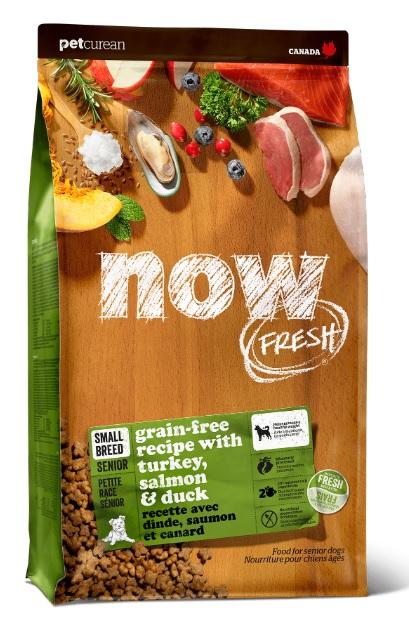 Корм Нау беззерновой для пожилых собак малых пород Grain Free Small Breed Senior Recipe DF Индейка/Утка/Овощи, в ассортименте, Now