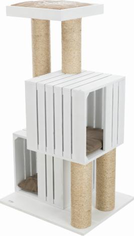 Трикси Домик-когтеточка BE NORDIC Skadi, 62*52*114 см, белый, Trixie