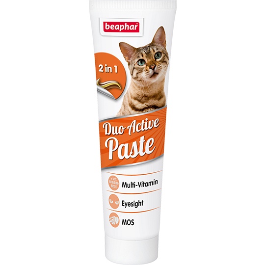 Беафар Мультивитаминная паста Duo Active Pasta для кошек, 100 г, Beaphar