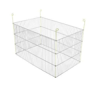 Вольтрега Вольер металлический для мелких животных 101*60*61 см, 4 секции, Voltrega