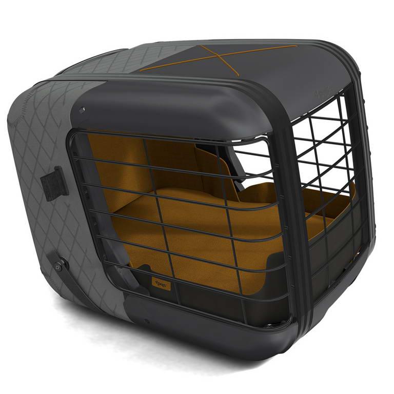 Фопетс Переноска в автомобиль Caree с креплением ISOFIX 57*47,5*46,5 см, для животных весом до 8 кг, в ассортименте, 4Pets