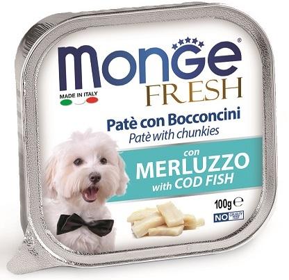 Монже Консервы Dog Fresh (Дог Фреш) для собак, 100 г, в ассортименте, Monge