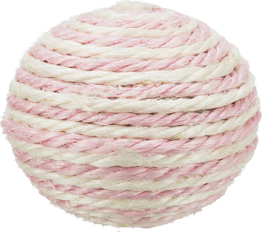 Трикси Мяч веревочный, сизаль, диаметр 6 см, Trixie