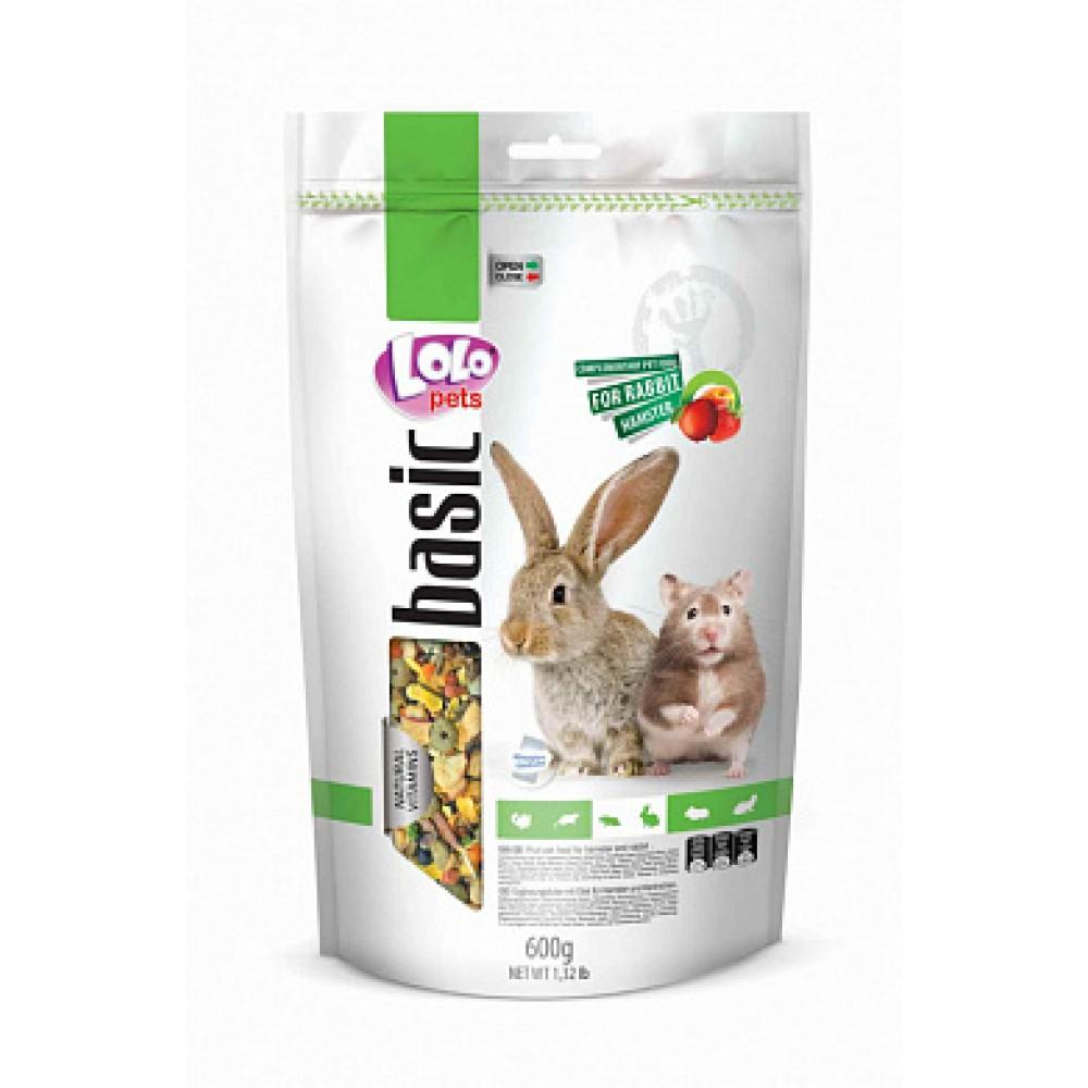 ЛолоПетс Корм для хомяков и кроликов lo-70105 600 г, LoloPets