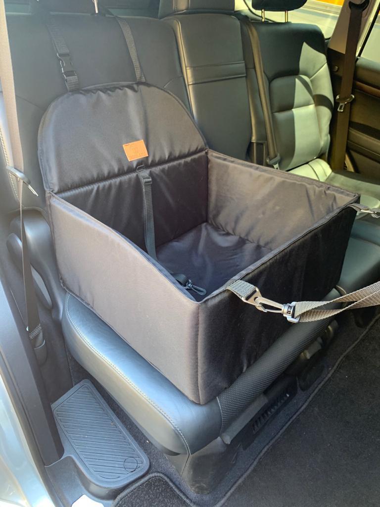 Доглэнд Переноска с креплением к автомобильному креслу, 52*48*25 см, Dog Land