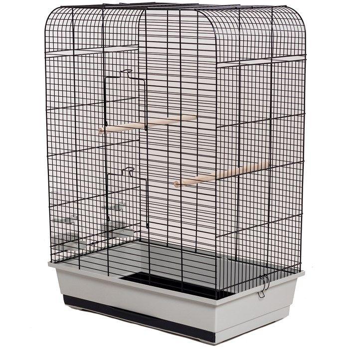 ИнтерЗоо Клетка Nina для птиц, 54*34*75 см, в ассортименте, InterZoo