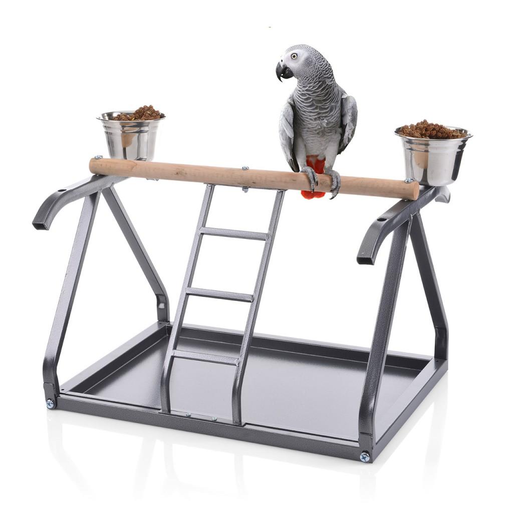 Монтана Игровая площадка (присада) для мелких и средних птиц, 50*34,5*38 см, в ассортименте, вес 4 кг, Montana