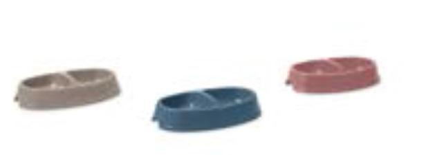 Савик Миска пластиковая Picnic Twin для кошек и собак, в ассортименте, Savic