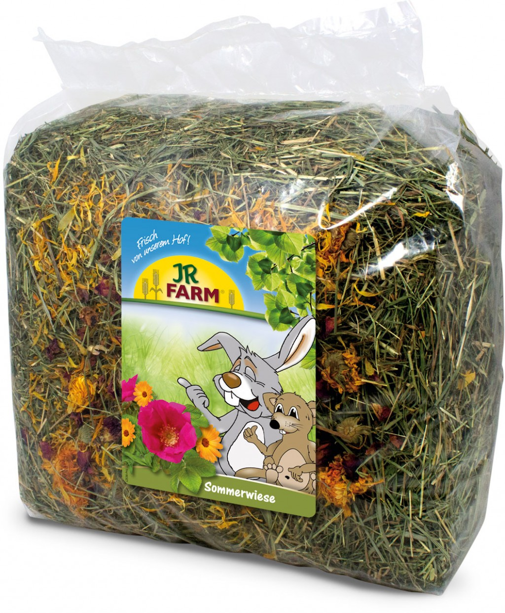 JR Farm Сено премиум класса для грызунов, в ассортименте, 500 г