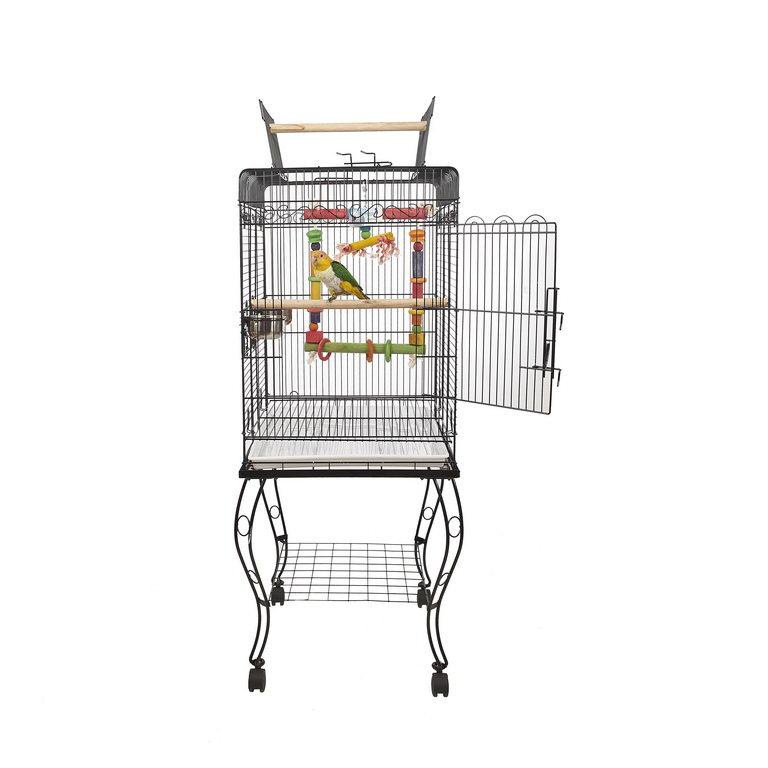Скай Клетка для птиц GAMA на подставке 53*52*58*134 см, в ассортименте, Sky