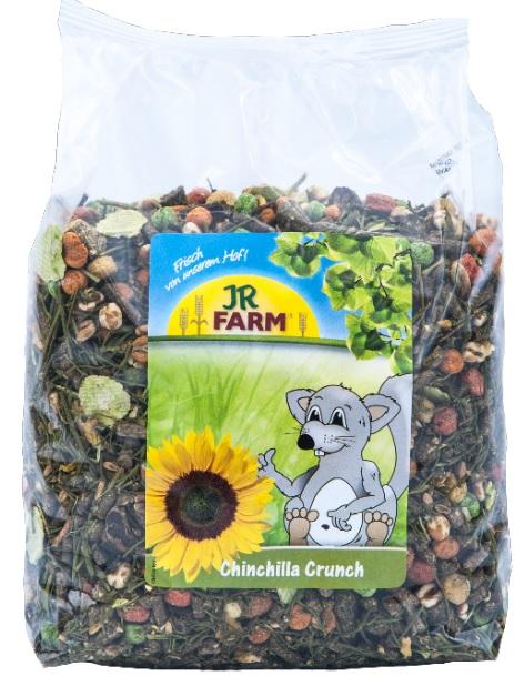 JR Farm Корм для шиншилл Chinchilla Crunch, в ассортименте