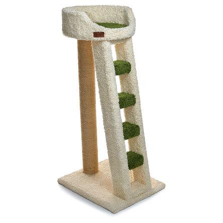 Сайвал Комплекс Malmo для кошек 56*43*113 см с лестницей, в ассортименте, ковролин/сизаль, Saival