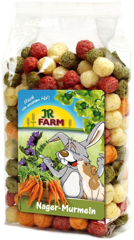 JR Farm Лакомство для грызунов Шарики из овощей и люцерны, 70г