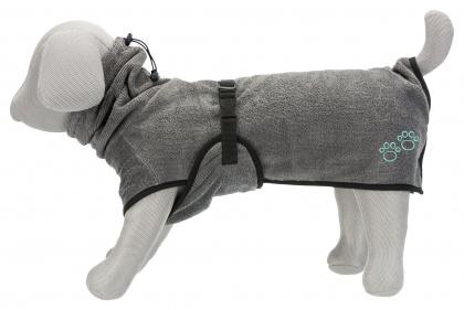 Трикси Халат махровый серый для собак, в ассортименте, Trixie