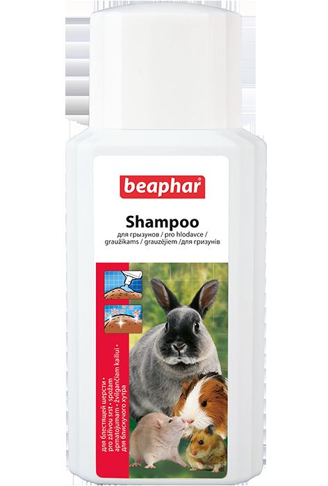 Беафар Шампунь для кроликов, крыс, морских свинок и других грызунов Shampoo for Rodents, 200 мл, Beaphar