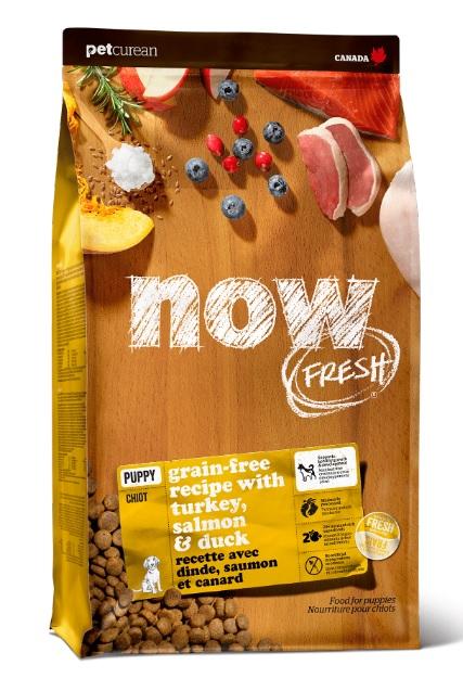 Корм Нау беззерновой для щенков всех пород Fresh Puppy Recipe Grain Free Индейка/Утка/Овощи, в ассортименте, Now