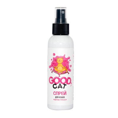Гуд Кет Успокаивающий спрей Антистресс для кошек 150 мл, Good Dog/Cat