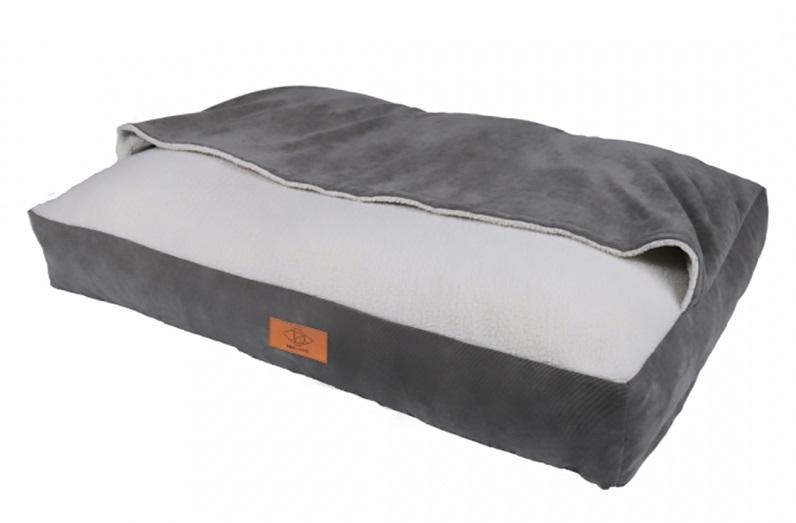 Эби Лежак-нора 100*70*15 см, серый, Europet Bernina International