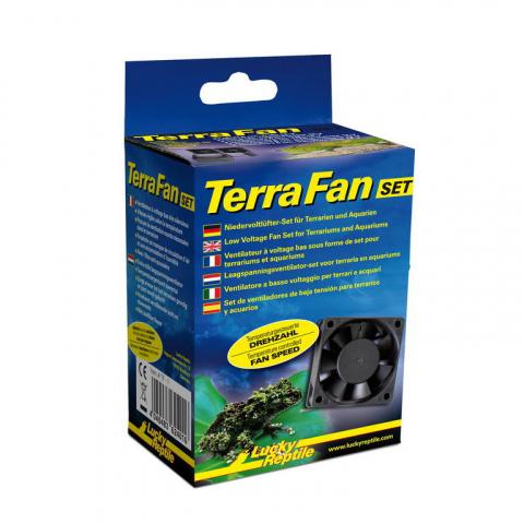 Лаки Рептайл Комплект Terra Fan Set для циркуляции воздуха с регулировкой температуры, Lucky Reptile