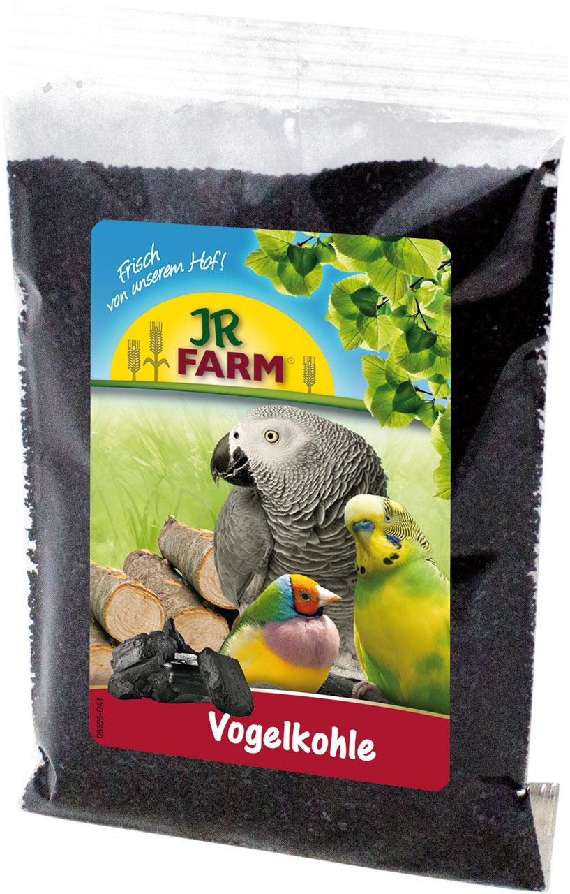 JR Farm Уголь древесный - подкормка для всех видов птиц, 25г