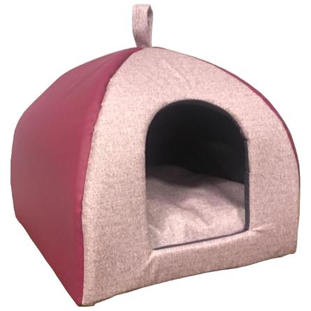 CLP Домик-пещера Коллекция Экокожа для кошек и собак, в ассортименте, Comfort Line for Pets