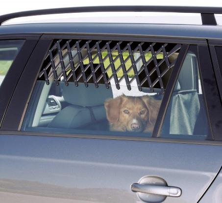 Трикси Решетка на окно автомобиля регулируемая универсальная Trixie