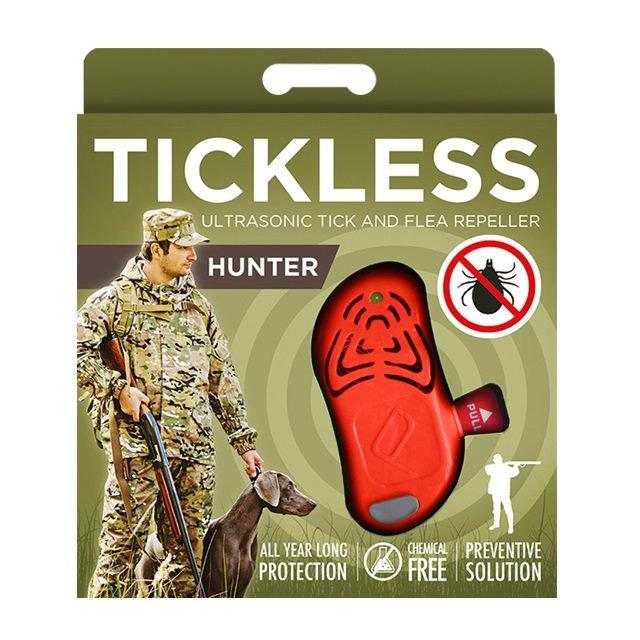 Тиклесс Ультразвуковой отпугиватель клещей TickLess HUNTER для охотников, в ассортименте, TickLess