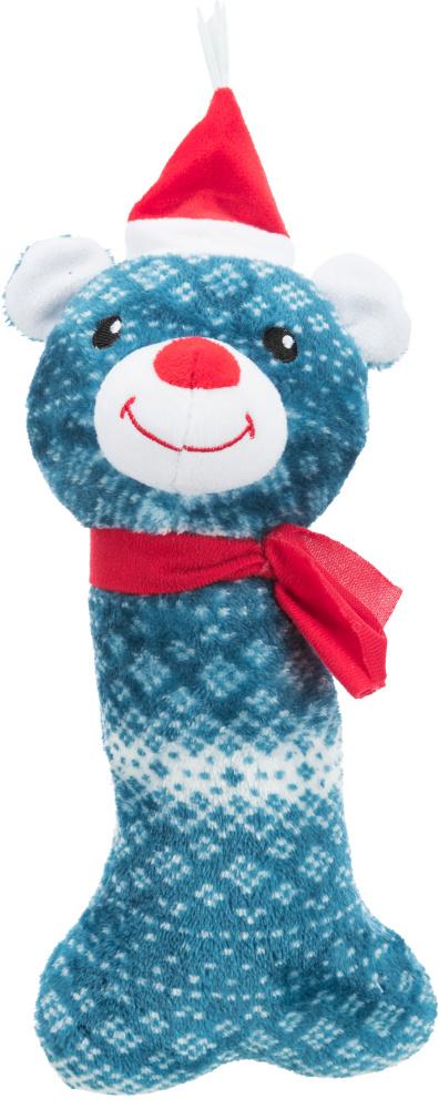 Трикси Игрушки новогодние для собак, 31 см, Косточка, в ассортименте, Trixie