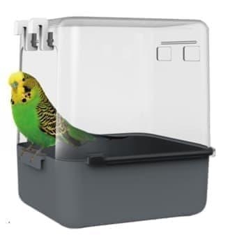НОВИНКА! Купалка для малых птиц 5201, 14*16*17,5 см, Золотая Клетка