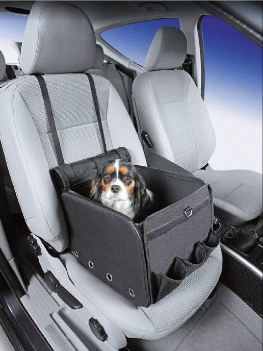 Нобби Переноска с креплением к автомобильному креслу Merlo 40*34*30 см, Nobby