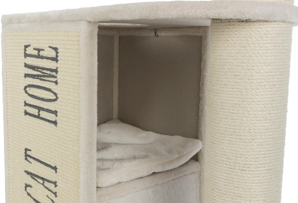 Трикси Комплекс для кошек Vincenzo 70*40*120 см кремовый, Trixie