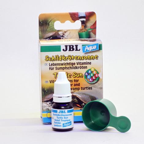 JBL Витамины Turtle Sun Aqua для водных и болотных черепах, 10 мл