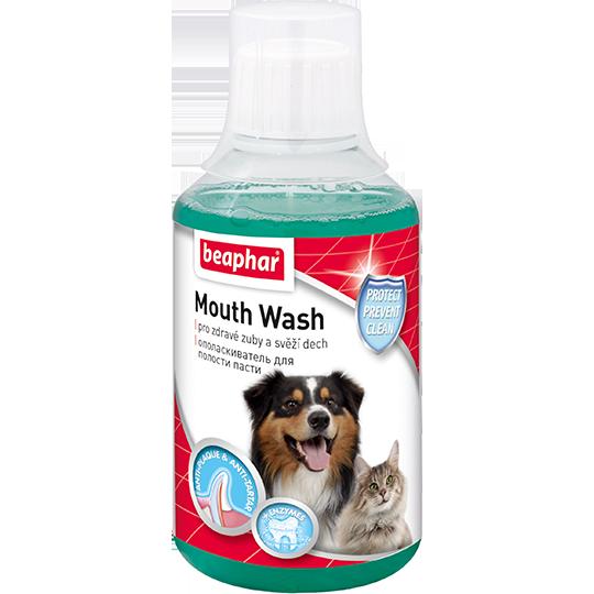 Беафар Ополаскиватель Mouth Wash для полости пасти кошек и собак, 250 мл, Beaphar