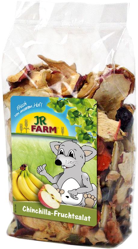 JR Farm Лакомство для шиншилл Фруктовый салат, 125 г