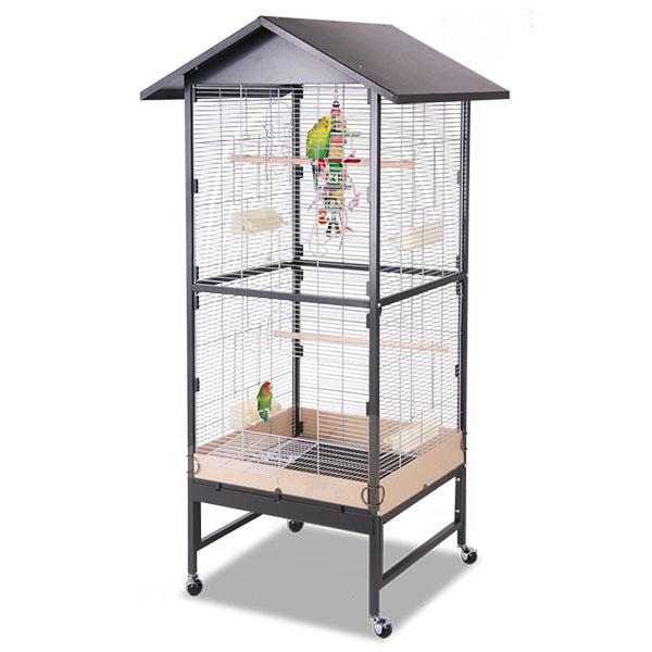 Монтана Клетка Villa Casa 75 для птиц, грызунов, хорьков, 75*65*128/180 см, в ассортименте, Montana