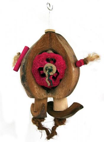 Скай Игрушка для птиц Coco-de-Nut, 30 см, Sky