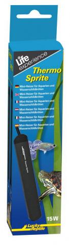 Лаки Рептайл Нагреватель Thermo Sprite пластиковый с фиксацией температуры, 15 Вт, Lucky Reptile