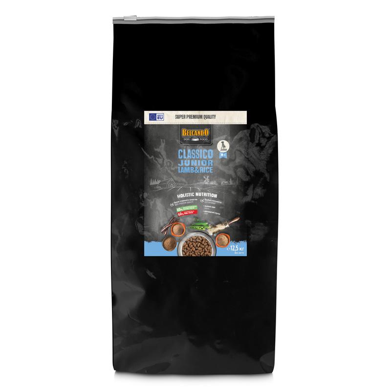 NEW Белькандо Корм Classico Junior Lamb/Rice для щенков Ягнёнок/Рис, в ассортименте, Belcando