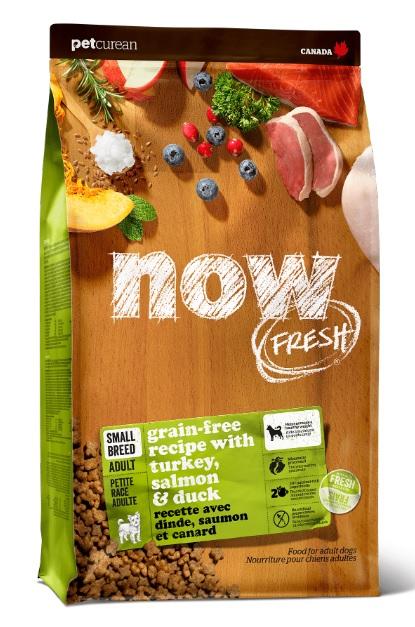Корм Нау беззерновой для собак малых пород Grain Free Small Breed Adult Recipe DF Индейка/Утка/Овощи, в ассортименте, Now