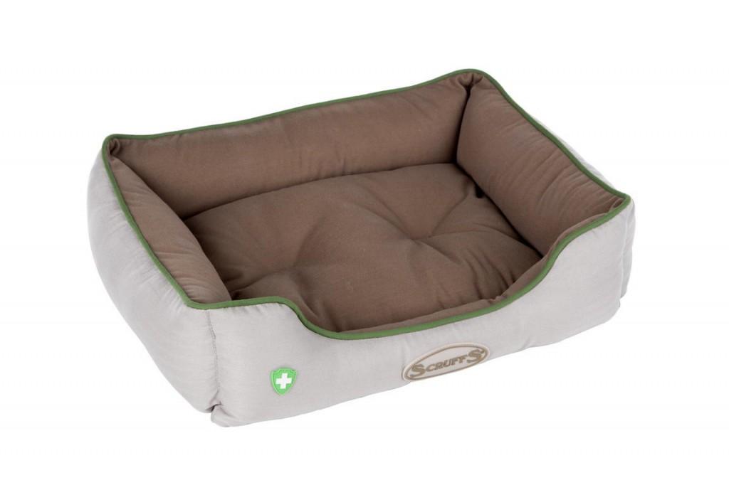 Скрафс Лежак-софа Insect Shield Box Bed с пропиткой от блох и клещей в ассортименте, Scruffs