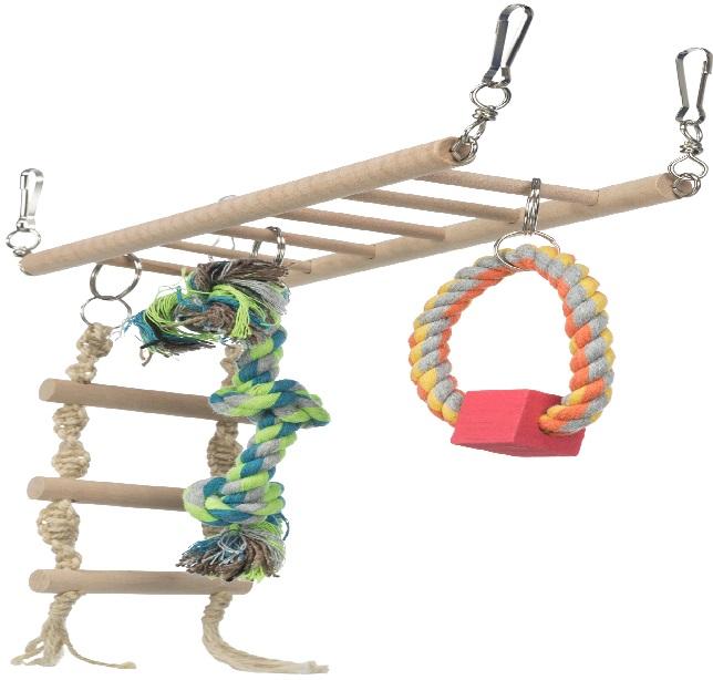 Трикси Мост подвесной для хомяков и мелких грызунов, 25*9 см, Trixie