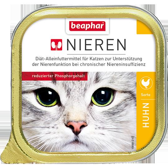 Беафар Полнорационная диета (паштет) Nieren для кошек с почечной недостаточностью, в ассортименте, 100 г, Beaphar