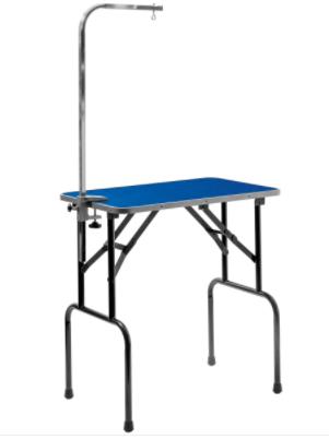ЗооУан Грумерский стол Профи складной синий с кронштейном, в ассортименте, ZooOne