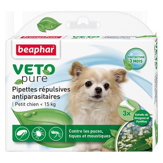 Беафар Биокапли VETO pure от паразитов 3 пипетки, в ассортименте, Beaphar