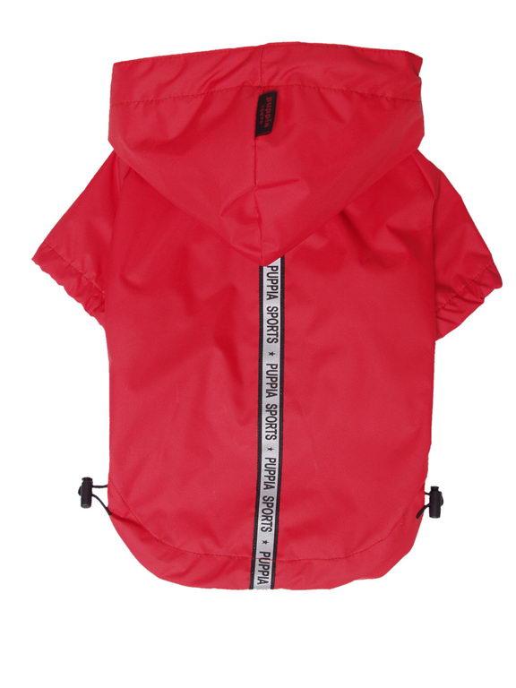 Паппи Дождевик с капюшоном Base Jumper, в ассортименте, красный, Puppia