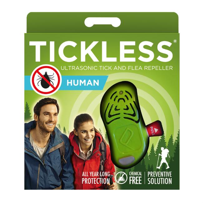 Тиклесс Ультразвуковой отпугиватель клещей TickLess HUMAN для людей, в ассортименте, TickLess