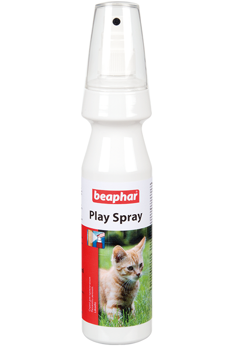 Беафар Спрей Play Spray для привлечения котят и кошек к местам, 150 мл, Beaphar