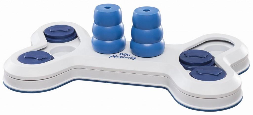 Трикси Развивающая игрушка для собак Flip Bone 32*18 см, пластик, Trixie