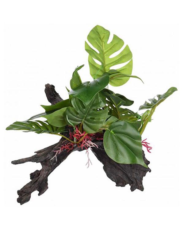 Лаки Рептайл Декоративная лесная коряга для террариума Forest 28,5*27*23,5 см, Lucky Reptile