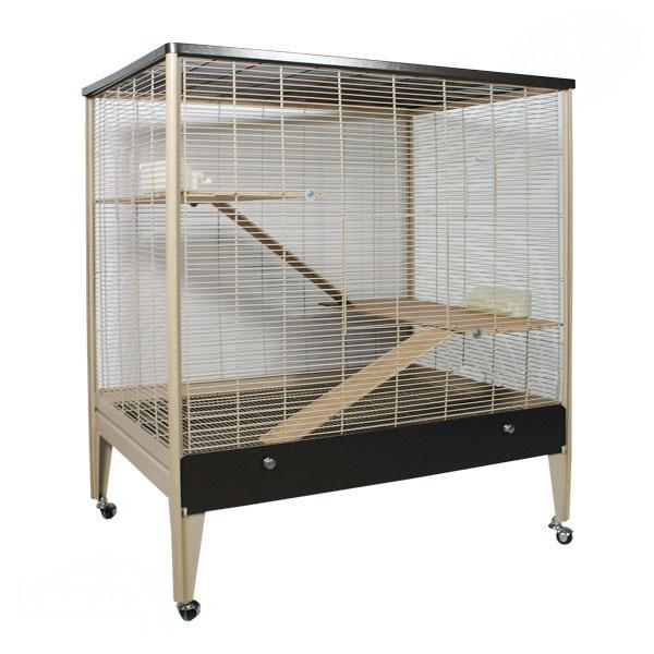 Монтана Клетка Happy Home 99 A для грызунов, хорьков и птиц, 99*71*115 см, Montana